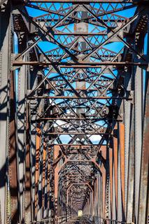 Grand Trunk Bridge Prince George British Columbia
