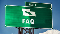 Street Sign to FAQ