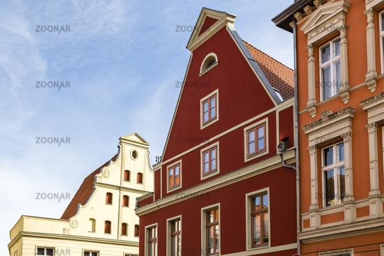 Giebelhaus, Stralsund, Deutschland, house with gable, Stralsund, Germany