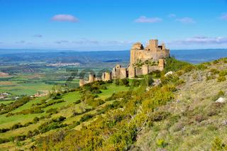 Castillo de Loarre in Aragonien, Spanien - Castillo de Loarre near Huesca, Aragon in Spain