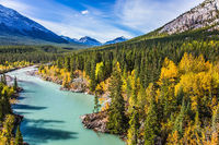 Abraham Lake in the Rockies