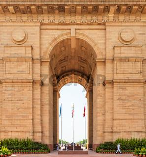 India Gate in New Delhi, India