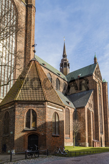 Marienkirche, Stralsund, Deutschland, St. Mary's Church, Stralsund, Germany
