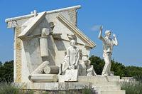 Der Durchbruch-Statue der Europäischen Freiheit,Paneuropäisches Picknick, Fertörakos, Ungarn