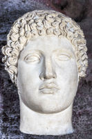 Head Of Hermes, Side Museum, Side, Turkey