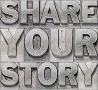 share your story block