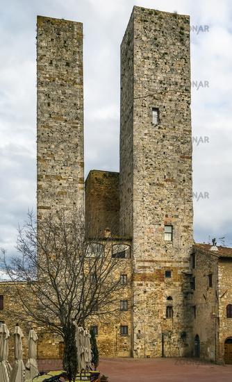 Torri dei Salvucci,San Gimignano, Italy