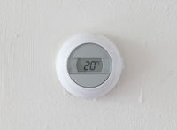 Vintage digital thermostat - Covert in dust