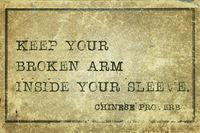 broken arm CP