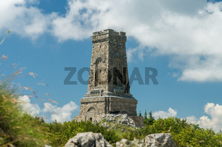 Monument to Freedom Shipka Bulgaria - Shipka, Gabrovo, Bulgaria. The Shipka Memorial is situated on