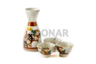 Sake serving set