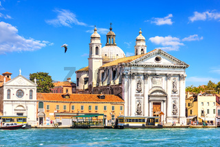 The church of Santa Maria Assunta in the Venetian Lagoon, Italy