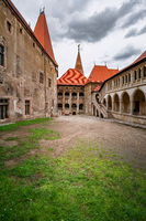 Inner Courtyard of the Castle
