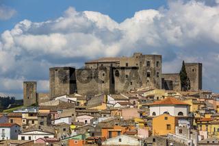 The Castle of Melfi in Basilicata, Italy