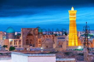 View of the Historic Centre of Bukhara