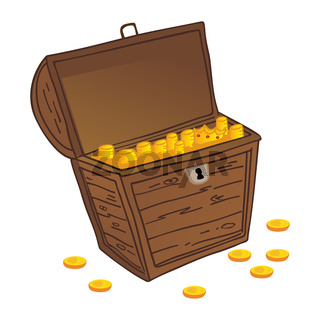 Chest of treasure