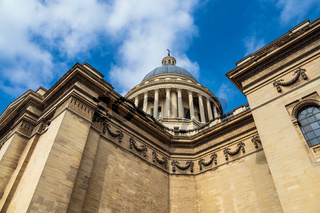 Blick auf das Pantheon in Paris, Frankreich