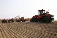 Seeding in Saskatchewan