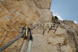 Dolomites Mountain Climbing