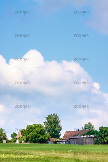 rural scenery background