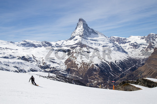 Matterhorn Skiing Area, Swiss Alps