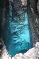 Slowenien, Quelle der Soča im Nationalpark Triglav
