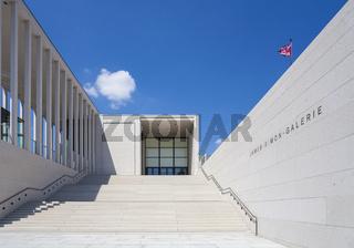 Der Neubau der James-Simon-Galerie auf der Museumsinsel, Berlin