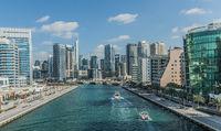 Dubai Marina, Bootsfahrt,