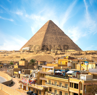 Giza city In Pyramid