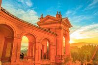 San Luca at sunset Bologna