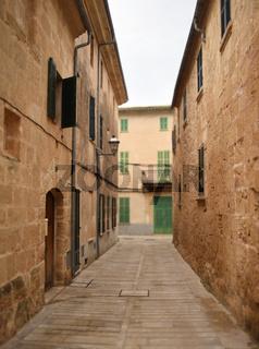 Kleine Gasse in Mallorca