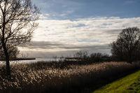 Achterwasser auf Usedom, Mecklenburg-Vorpommern, Deutschland,  Achterwasser on Island of Usedom, Mecklenburg-West Pomerania, Germany
