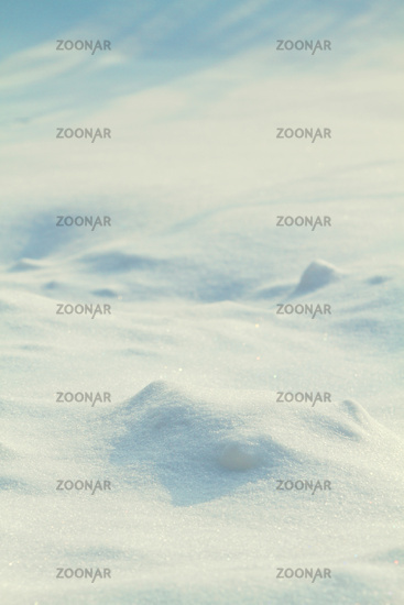 a snow background close up
