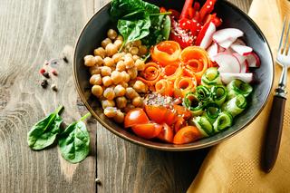 Buddha bowl, healthy and balanced food.
