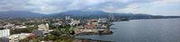 Blick auf Manado in Nordsulawesi