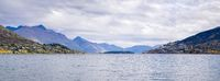 Lake Wakatipu near Queenstown, New Zealand