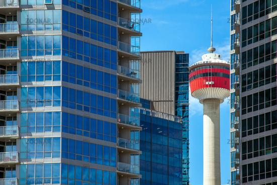 Skyline of Calgary Alberta Canada