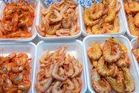 Tapas mit Shrimps