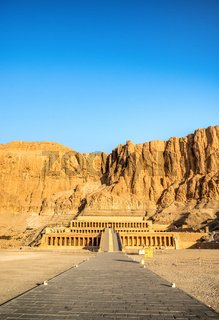 View of Queen Hatshepsut