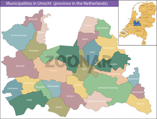 Utrecht is a province of the Netherlands