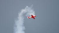 World champion performs aerobatics