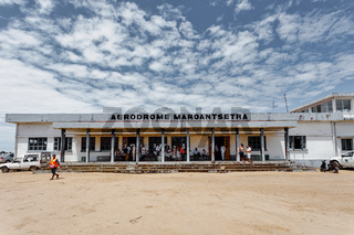 domestic airport in Maroantsetra city, Madagascar