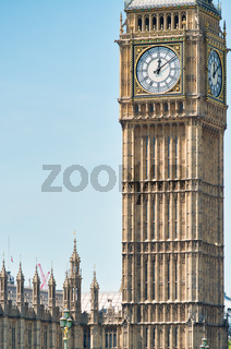 The Big Ben Tower in London, UK
