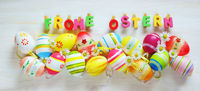 Ostern, Frohe Ostern, Ostereier, Banner, Header, Headline, Panorama, Textraum, copy space