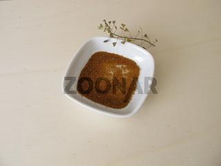 Essbare Hirtentäschelsamen, Samen vom Hirtentäschel