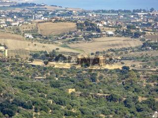 Agrigento in Sicily