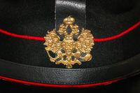 Cockade on the Peaked Cap