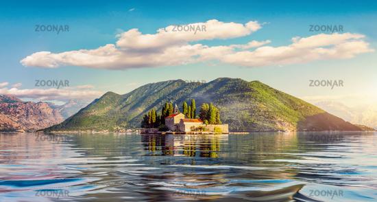George Island in Perast