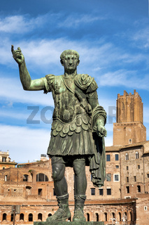 Statue of Emperor Trajan
