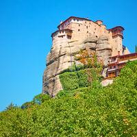 Monastery of Roussanou - Greek landmark